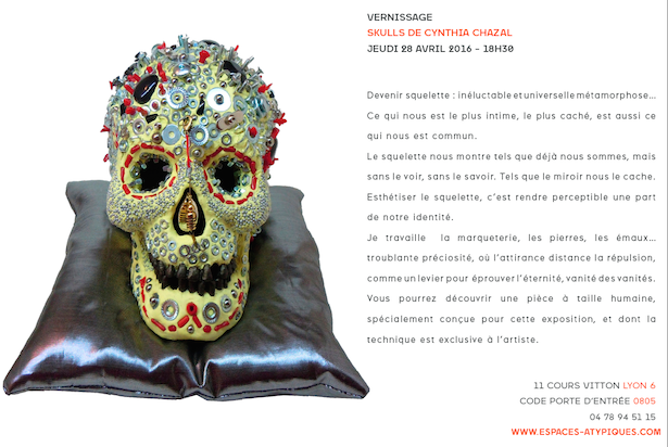 Skulls fond blanc blog