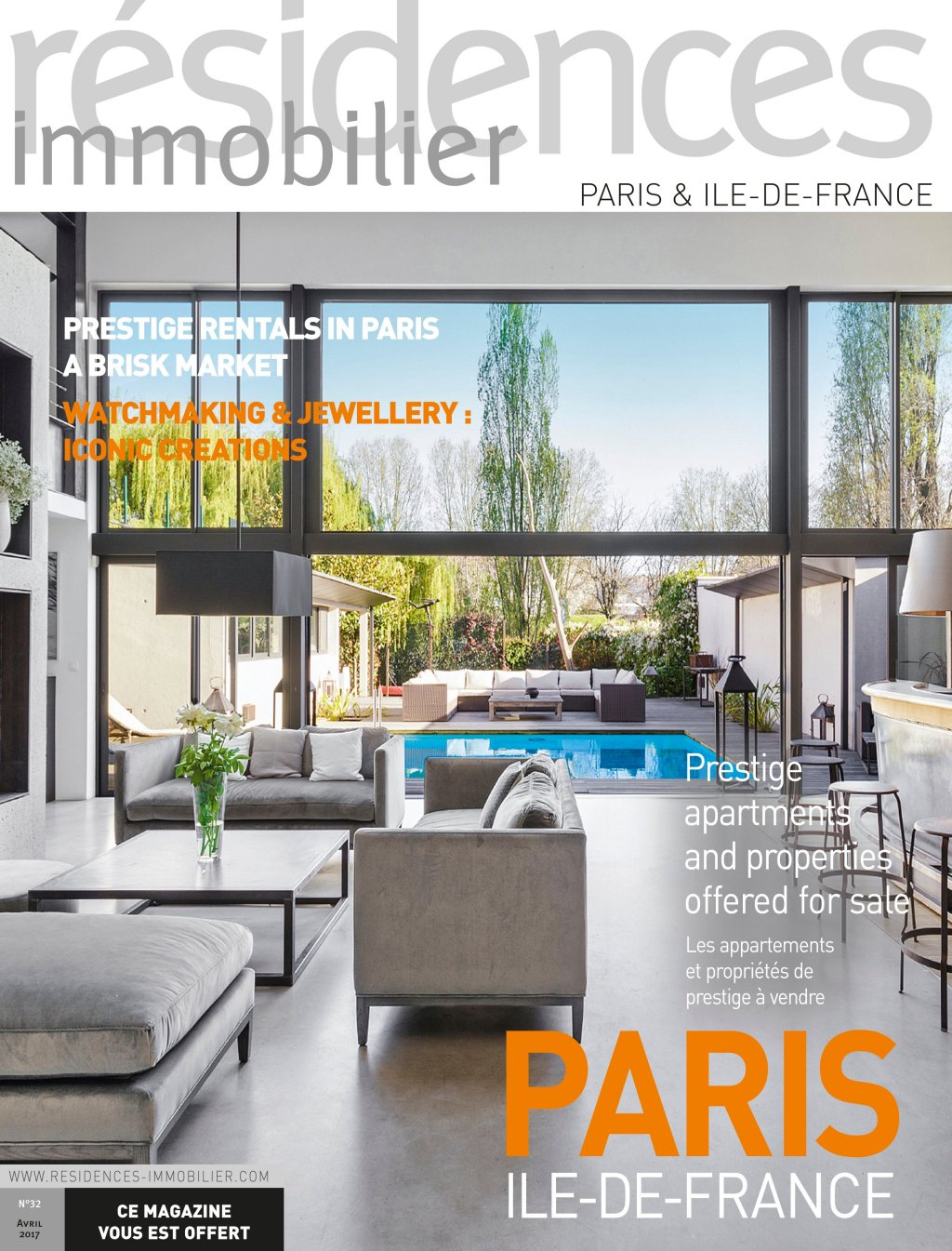 Couv Residences immobilier