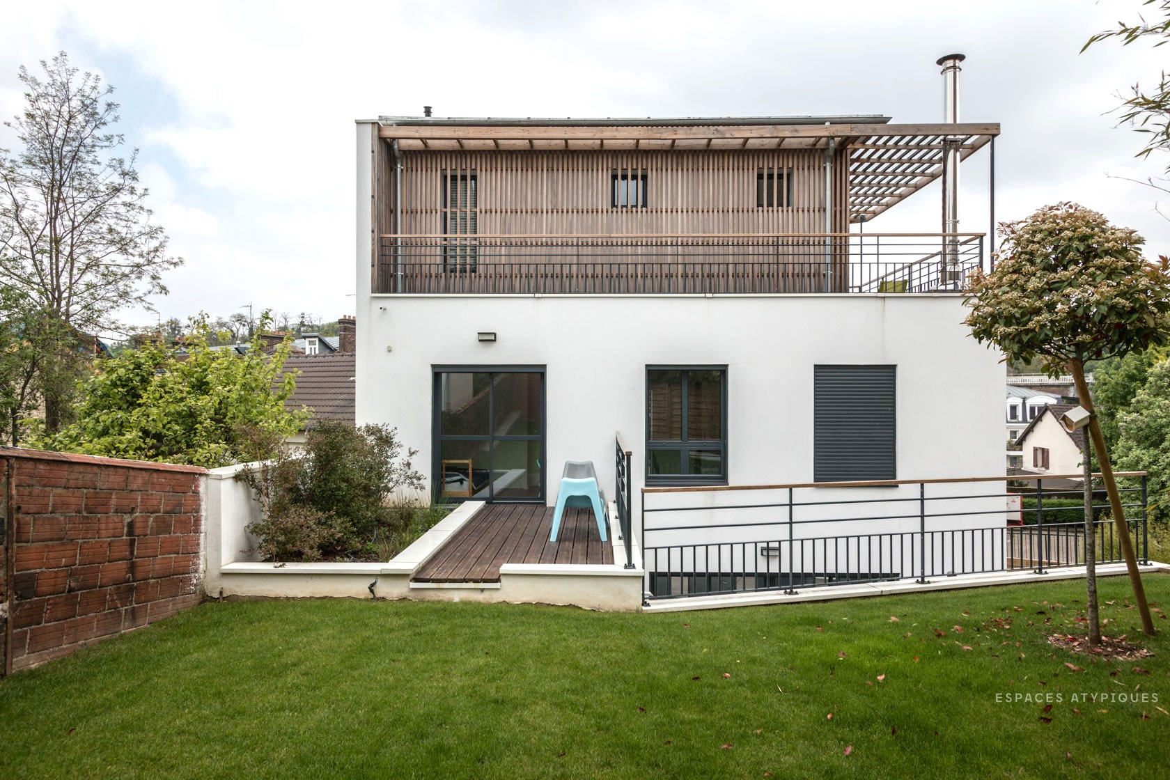 Affordable maison meudon with cout maison architecte for Architecte prix maison
