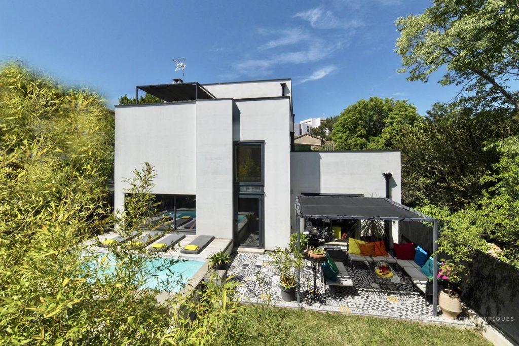 Villa d'inspiration Gerrit Rietveld