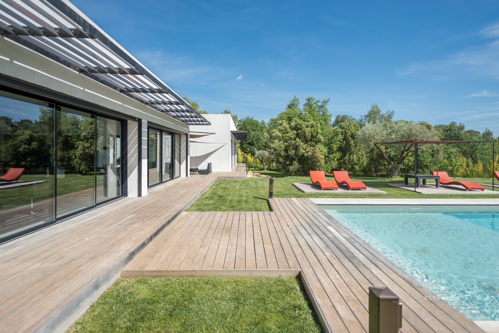 Espaces atypiques loft atelier terrasse maison architecte contemporain - Espace atypique a vendre ...