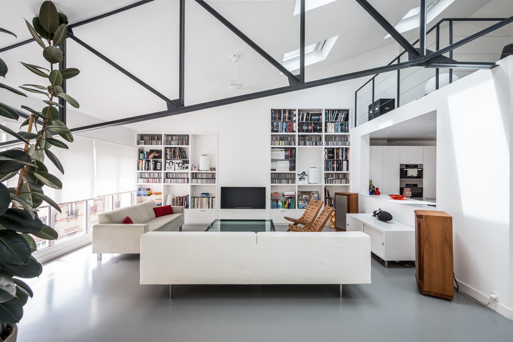 Espaces atypiques loft atelier terrasse maison - Loft angers a vendre ...