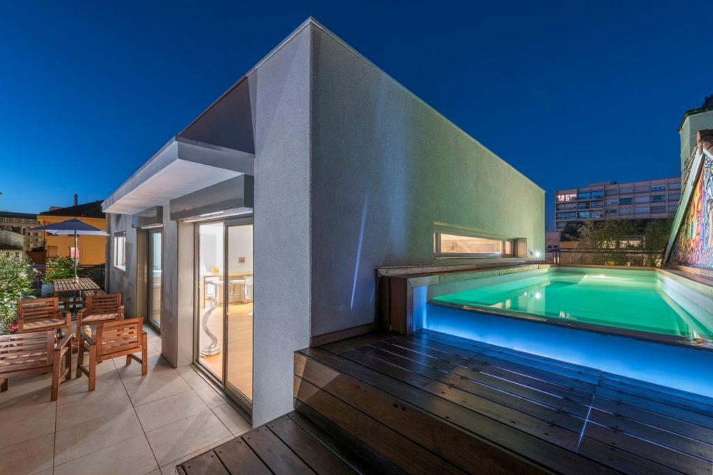 Penthouse d'exception avec terrasse et piscine