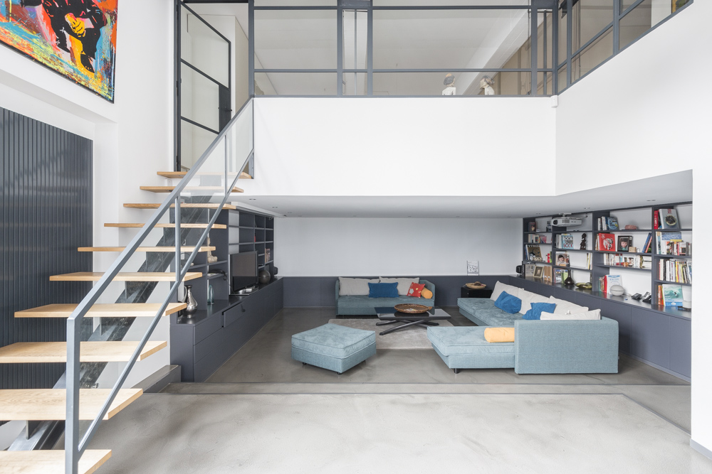 Loft contemporain avec terrasse