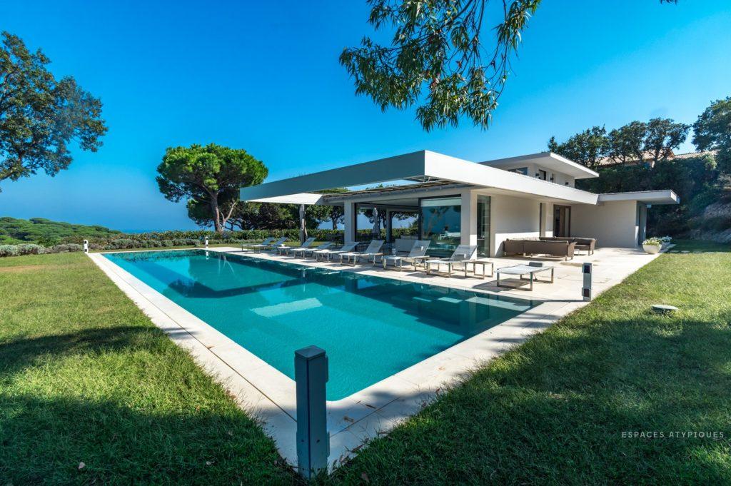 villa californienne de prestige avec vue unique